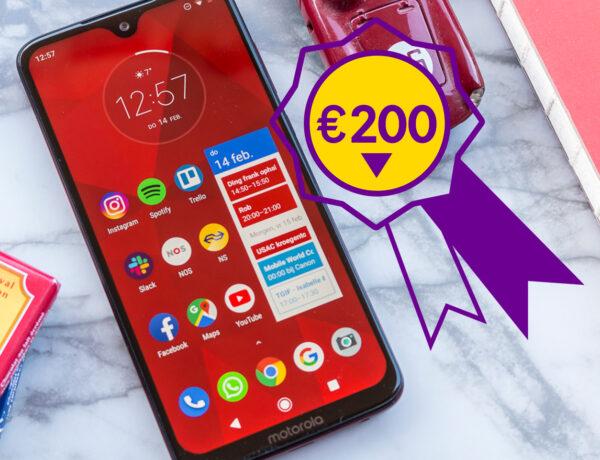 Thumbnail beste smarthones onder €200