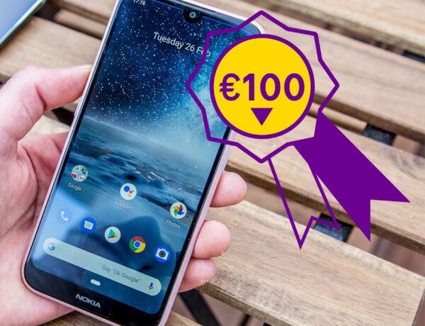 Top 5 beste smartphones onder €100