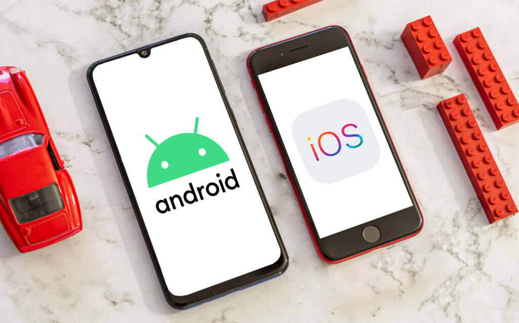 Android of iOS uitgelicht