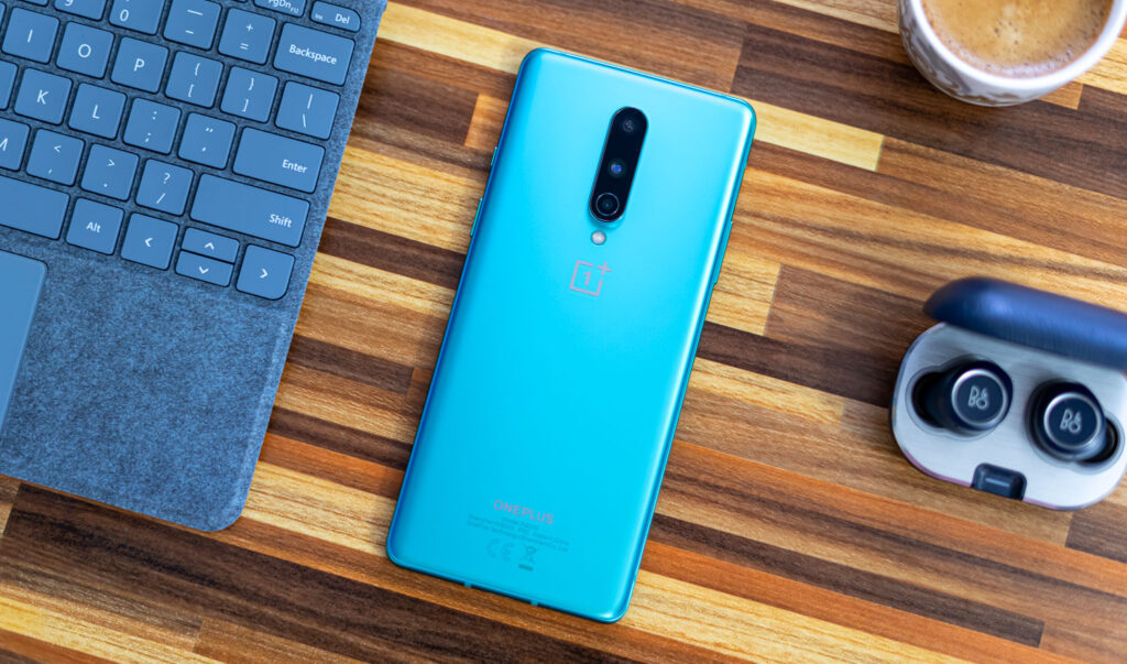 OnePlus 8 review achterkant