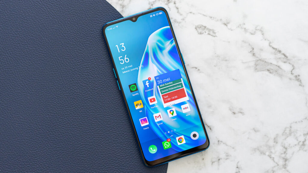 Oppo A91 review voorkant
