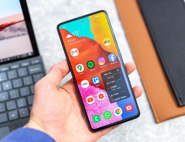 Samsung Galaxy A51 review uitgelicht