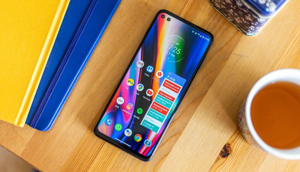 Motorola Moto G 5G Plus uitgelicht