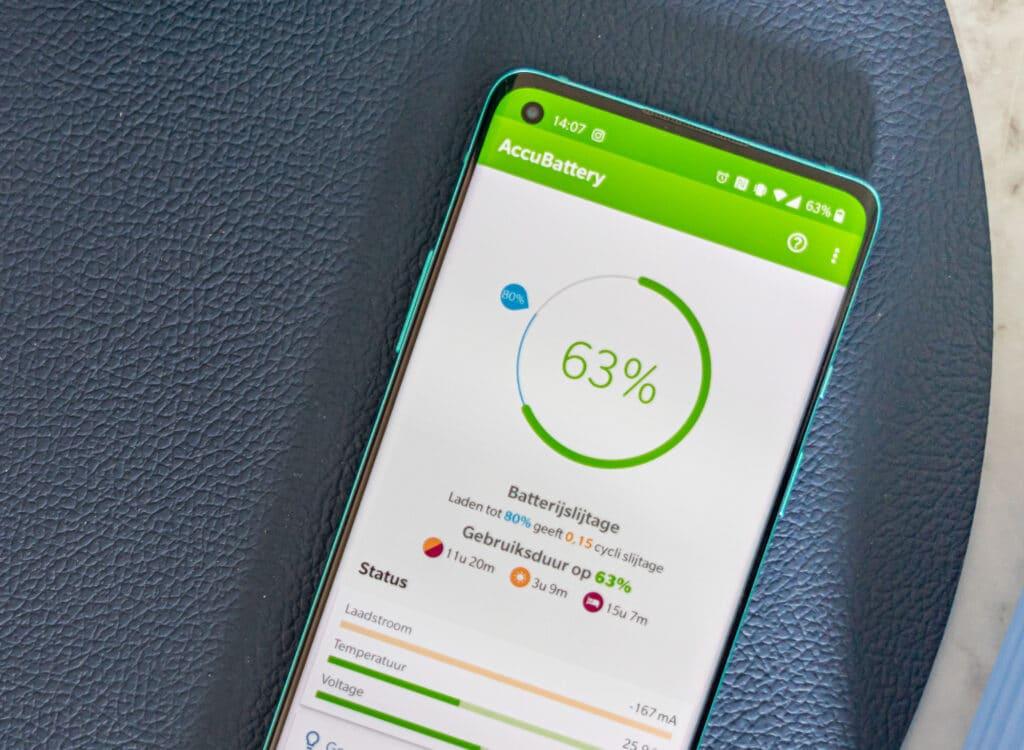 Batterij app