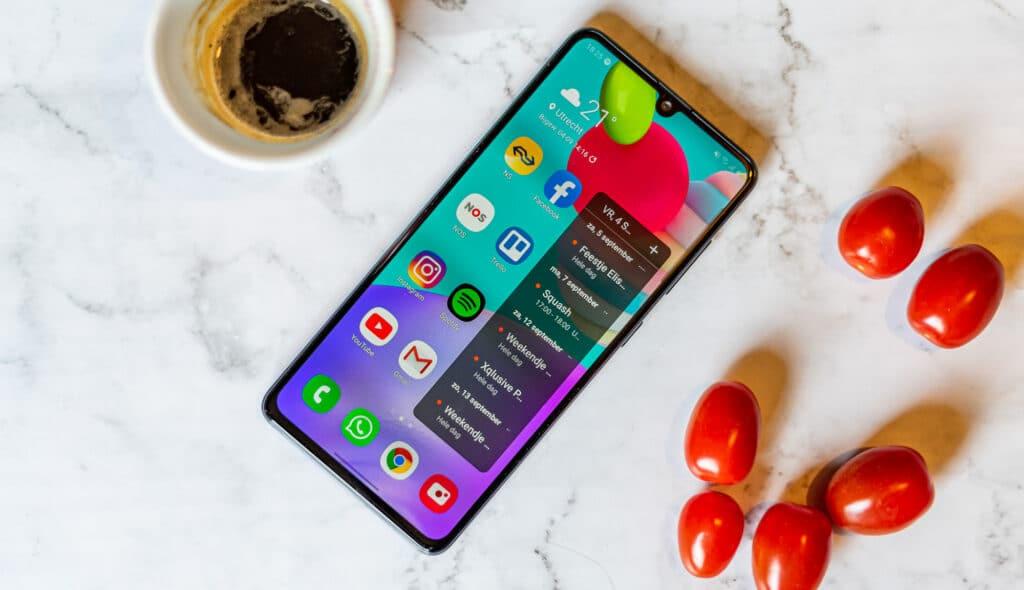 Samsung Galaxy A41 review overzicht