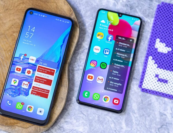 Samsung Galaxy A41 vs Oppo A53 voor