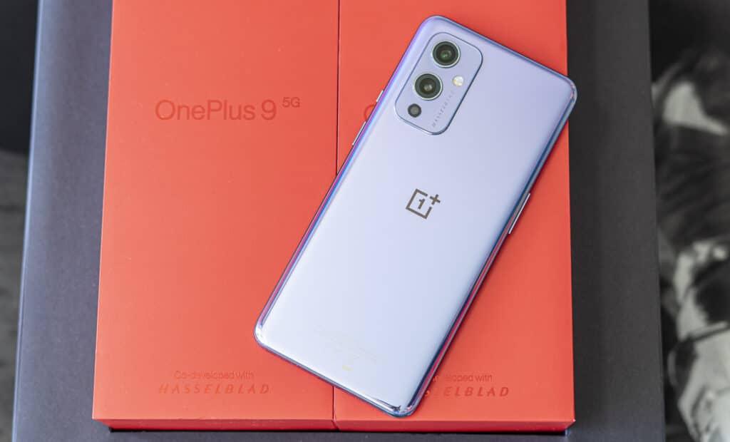 OnePlus 9 achterkant