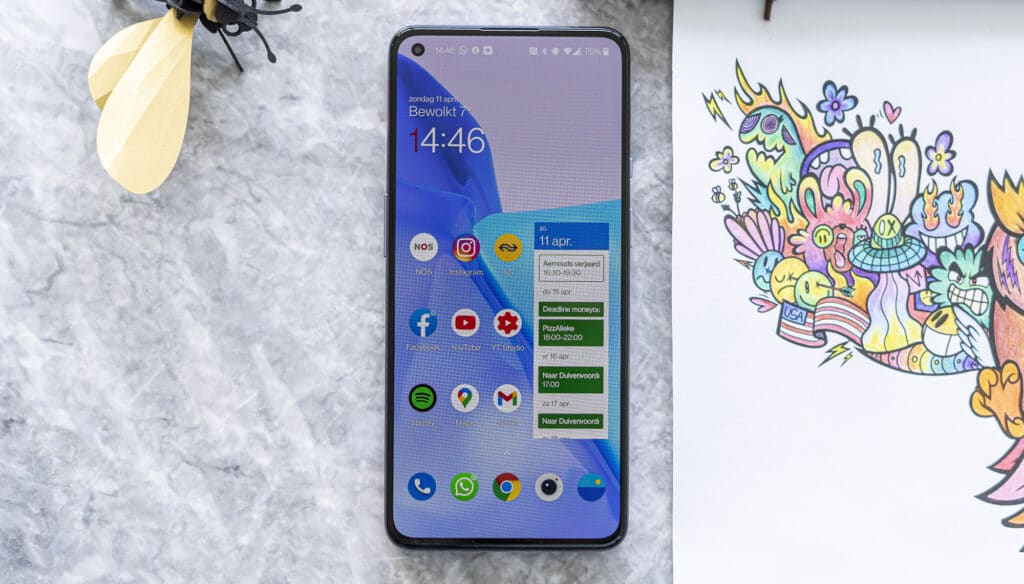 OnePlus 9 review voorkant