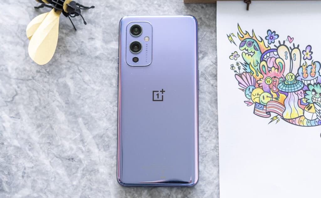 OnePlus 9 review achterkant